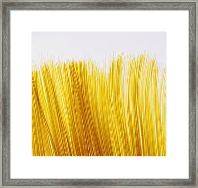 Spaghetti Framed Print by David Chapman
