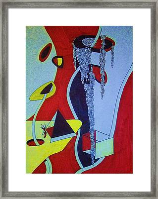 Spaghetti Dreams Framed Print by Christopher Reed