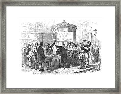 Spain: Abolitionists, 1869 Framed Print by Granger