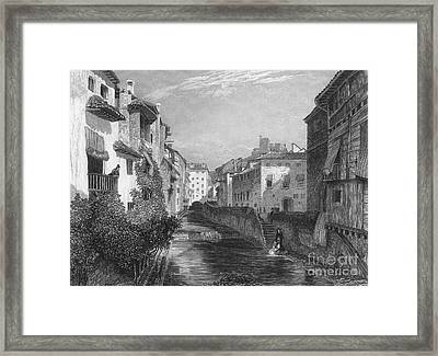 Spain: Grenada, 1833 Framed Print by Granger