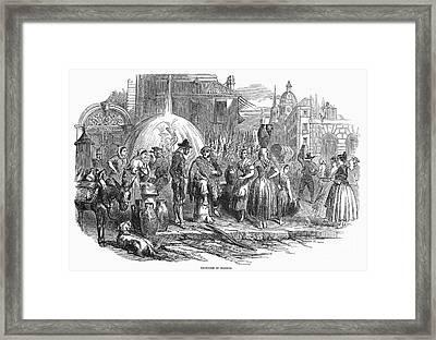 Spain: Madrid, 1848 Framed Print by Granger