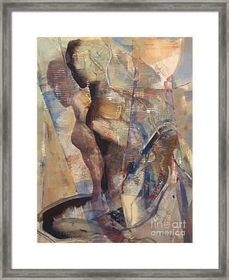 Spandex Motion Framed Print by Charles B Mitchell