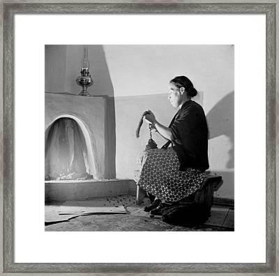 Spanish-american Women, Maclovia Lopez Framed Print by Everett