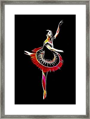 Spanish Ballerina Framed Print by Steve K