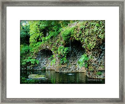 Spanish Beauty Framed Print