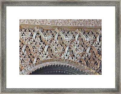 Spanish Intricacy Framed Print