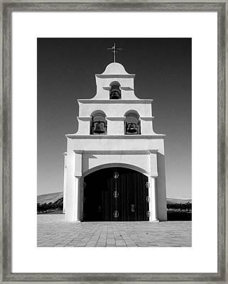 Spanish Mission Front Framed Print
