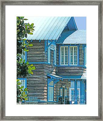 Spanish Town Blues  Framed Print