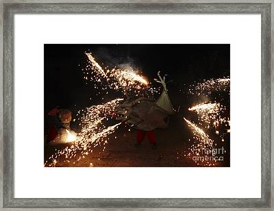 Sparkling Dragon Framed Print by Agusti Pardo Rossello