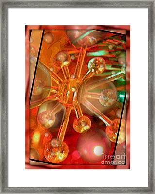 Sparkling Spirit Of Christmas Framed Print