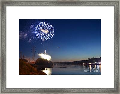 Sparkling Water  Framed Print by Sue Stefanowicz