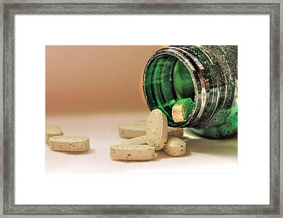 Sparkly Bottled Goodness Framed Print by Sarah Broadmeadow-Thomas
