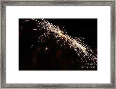 Sparks Disco Framed Print by Agusti Pardo Rossello