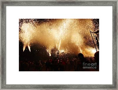Sparks Rain Framed Print by Agusti Pardo Rossello