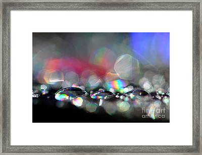 Sparks Framed Print by Sylvie Leandre