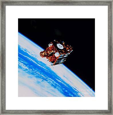 Spartan-201 Astronomy Package Framed Print