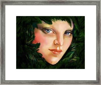 Spartan Queen Framed Print by Lakota Phillips