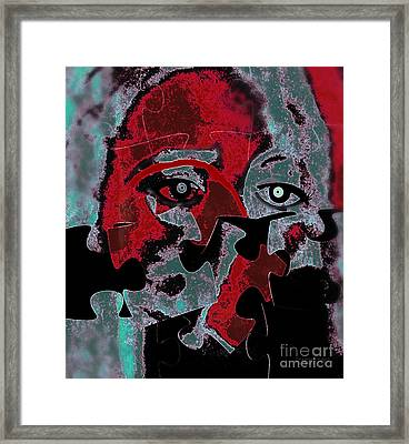 Speak For Me Lord Framed Print by Fania Simon