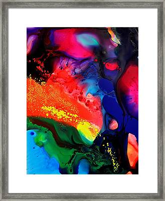 Framed Print featuring the painting Speak For Yourself by Christine Ricker Brandt