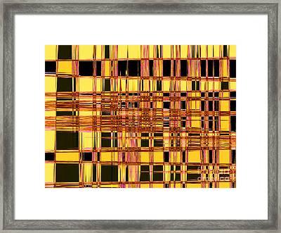 Speak To Me - Abstract Art Framed Print by Carol Groenen