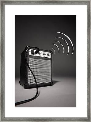 Speaker To Me Framed Print