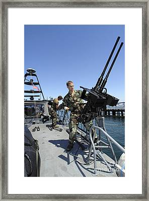 Special Warfare Combatant Craft Crewmen Framed Print by Stocktrek Images
