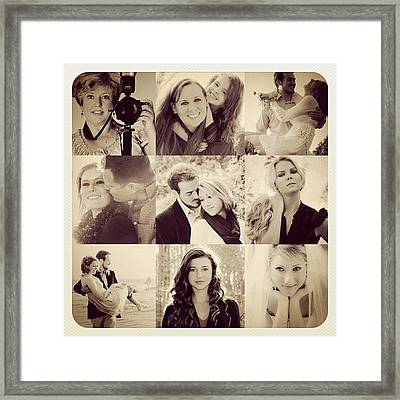 Specializing In Fabulousnes! #portraits Framed Print