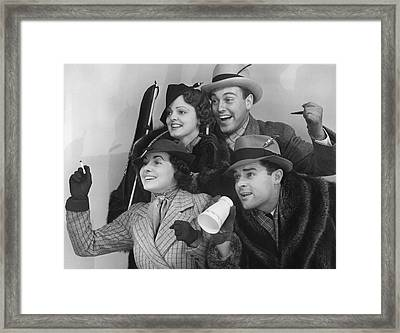 Spectators Framed Print by George Marks
