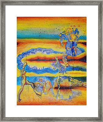 Spectrum Of The Goon Framed Print by Ben Christianson