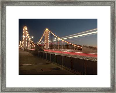 Speed Framed Print by Photography Aubrey Stoll