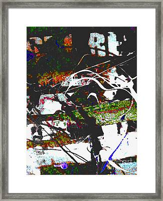 Speeding By Framed Print by Robert Daniels