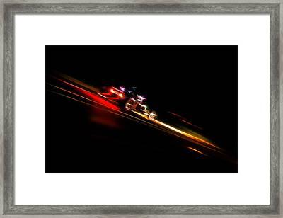 Speeding Hot Rod Framed Print by Phil 'motography' Clark