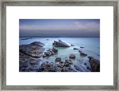 Speke's Mill Mouth Framed Print by Mark Leader