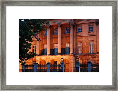 Spencer Residence Framed Print