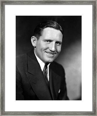 Spencer Tracy, 92734 Framed Print by Everett