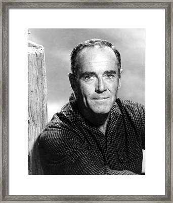 Spencers Mountain, Henry Fonda, 1963 Framed Print