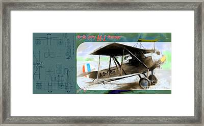 Sperry Messenger Framed Print