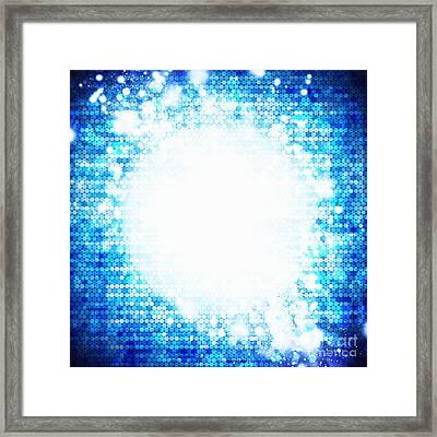Sphere Energy Framed Print
