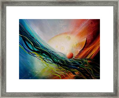 Sphere Gl2 Framed Print by Drazen Pavlovic