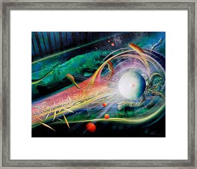 Sphere Metaphysics Framed Print by Drazen Pavlovic