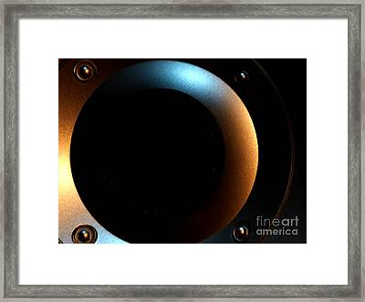 Framed Print featuring the photograph Sphere by Newel Hunter