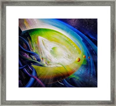 Sphere Qf70 Framed Print