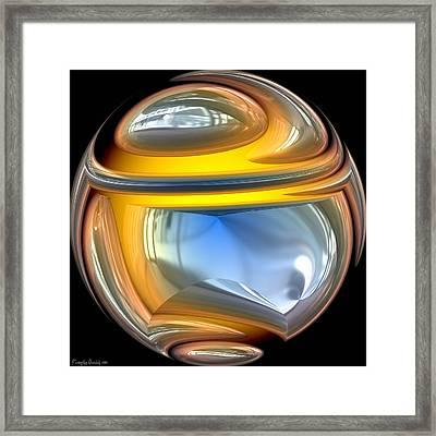 Sphere. Framed Print by Tautvydas Davainis