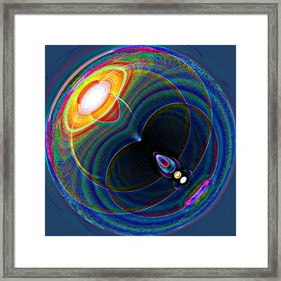 Spherical Vision 1 Framed Print