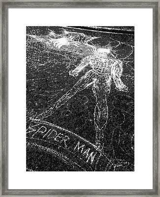 Spider 1 Framed Print by Beto Machado