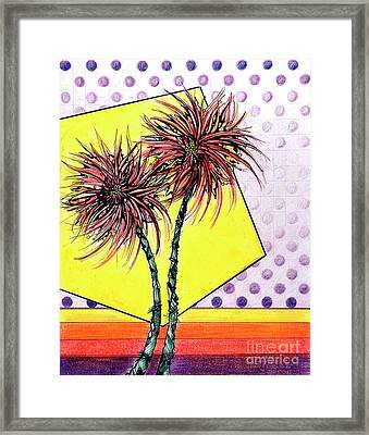 Spider Lilies Framed Print