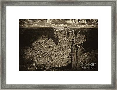 Spider Rock - Toned Framed Print by Paul W Faust -  Impressions of Light