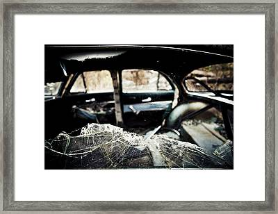 Spider's Window Framed Print