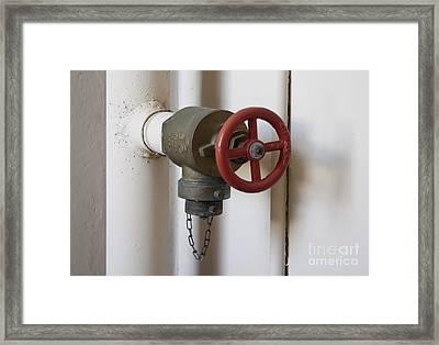 Spigot Framed Print by Blink Images
