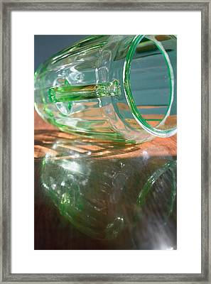Spilled Light Framed Print